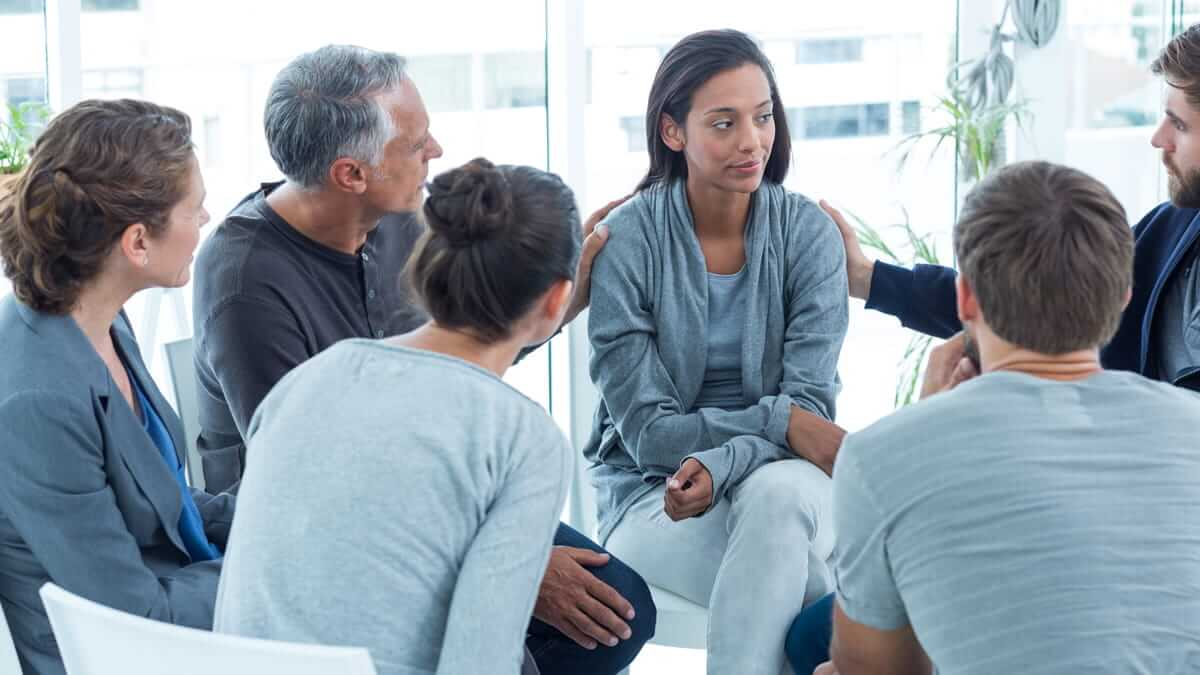Professional Therapy Group Support Counselor Relationship